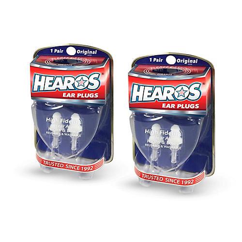 Hearos High Fidelity Ear Plugs 2-Pack thumbnail