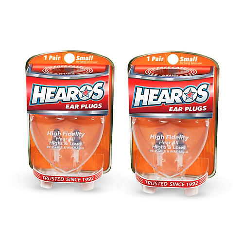 Hearos High Fidelity-Series Long-Term Earplugs (2 Pairs) thumbnail