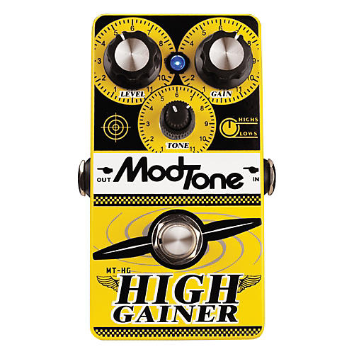 Modtone High Gainer Super Distortion Guitar Effects Pedal thumbnail