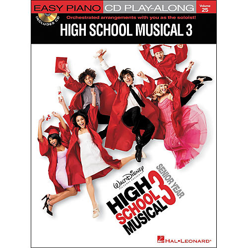 Hal Leonard High School Musical 3 - Easy Piano CD Play-Along Volume 25 Book/CD-thumbnail