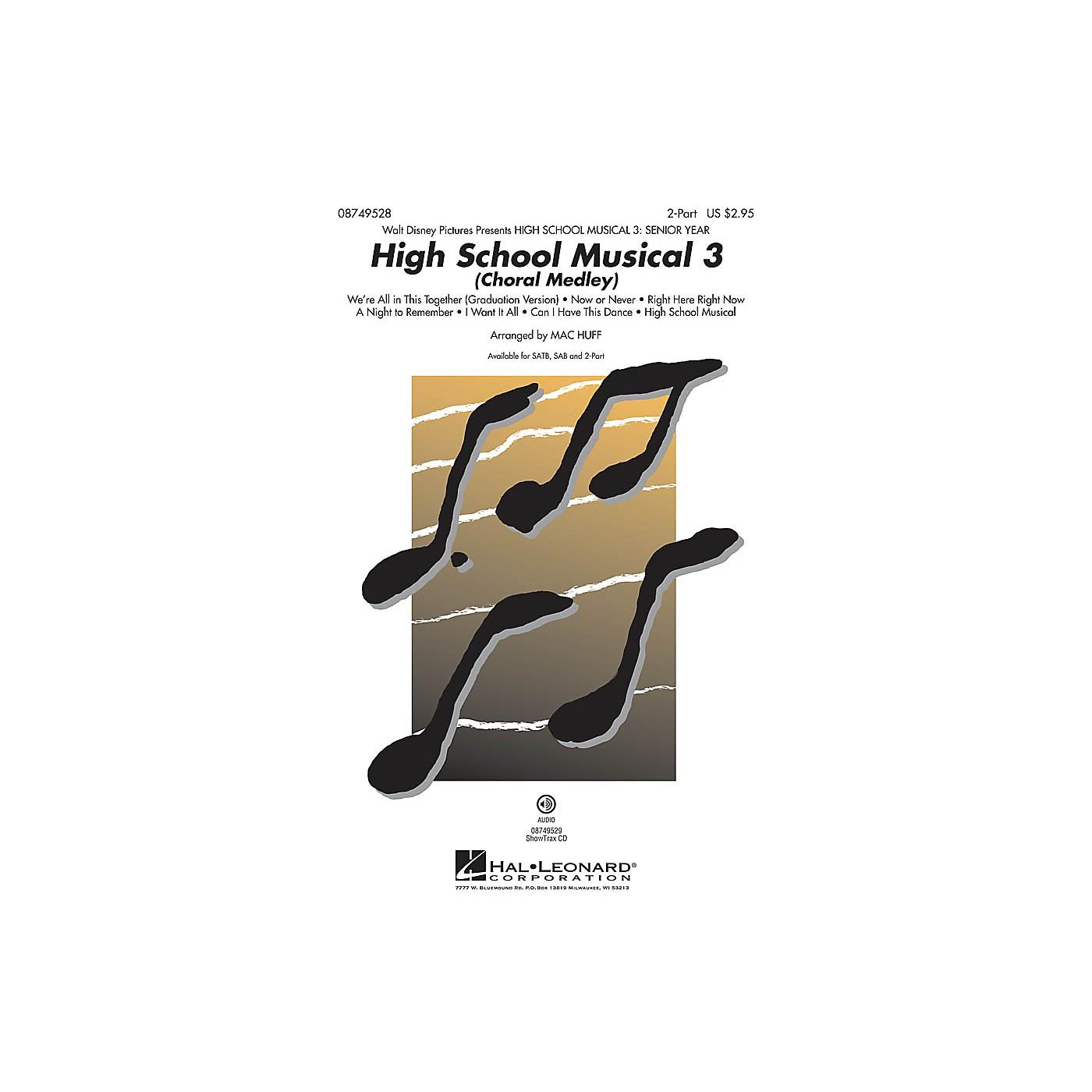 Hal Leonard High School Musical 3 (Choral Medley) 2-Part arranged by Mac Huff thumbnail