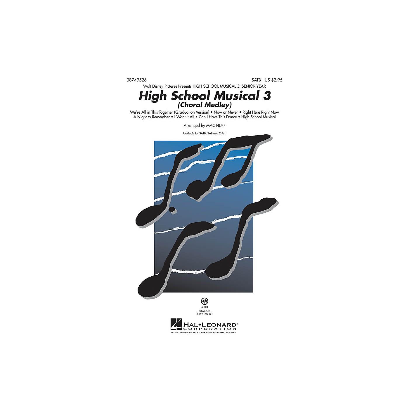 Hal Leonard High School Musical 3 (Choral Medley) SATB arranged by Mac Huff thumbnail