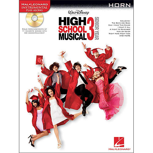 Hal Leonard High School Musical 3 for French Horn - Instrumental Play-Along Book/CD Pkg thumbnail