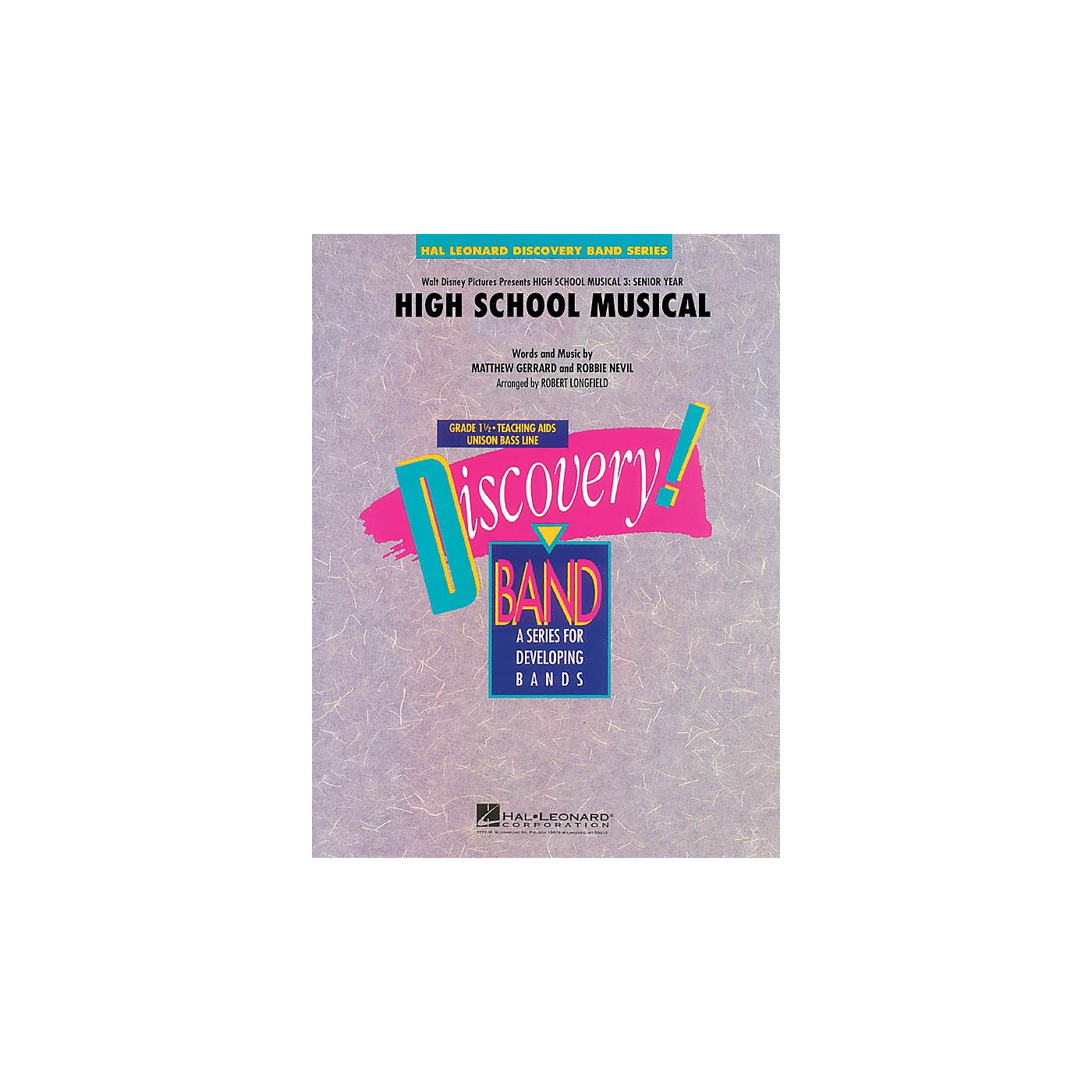 Hal Leonard High School Musical (from High School Musical 3: Senior Year) Concert Band Level 1.5 by Robert Longfield thumbnail