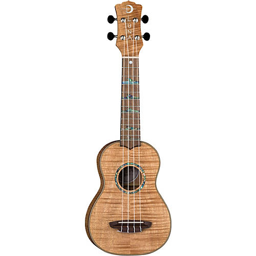 Luna Guitars High Tide Exotic Mahogany Soprano Ukulele thumbnail