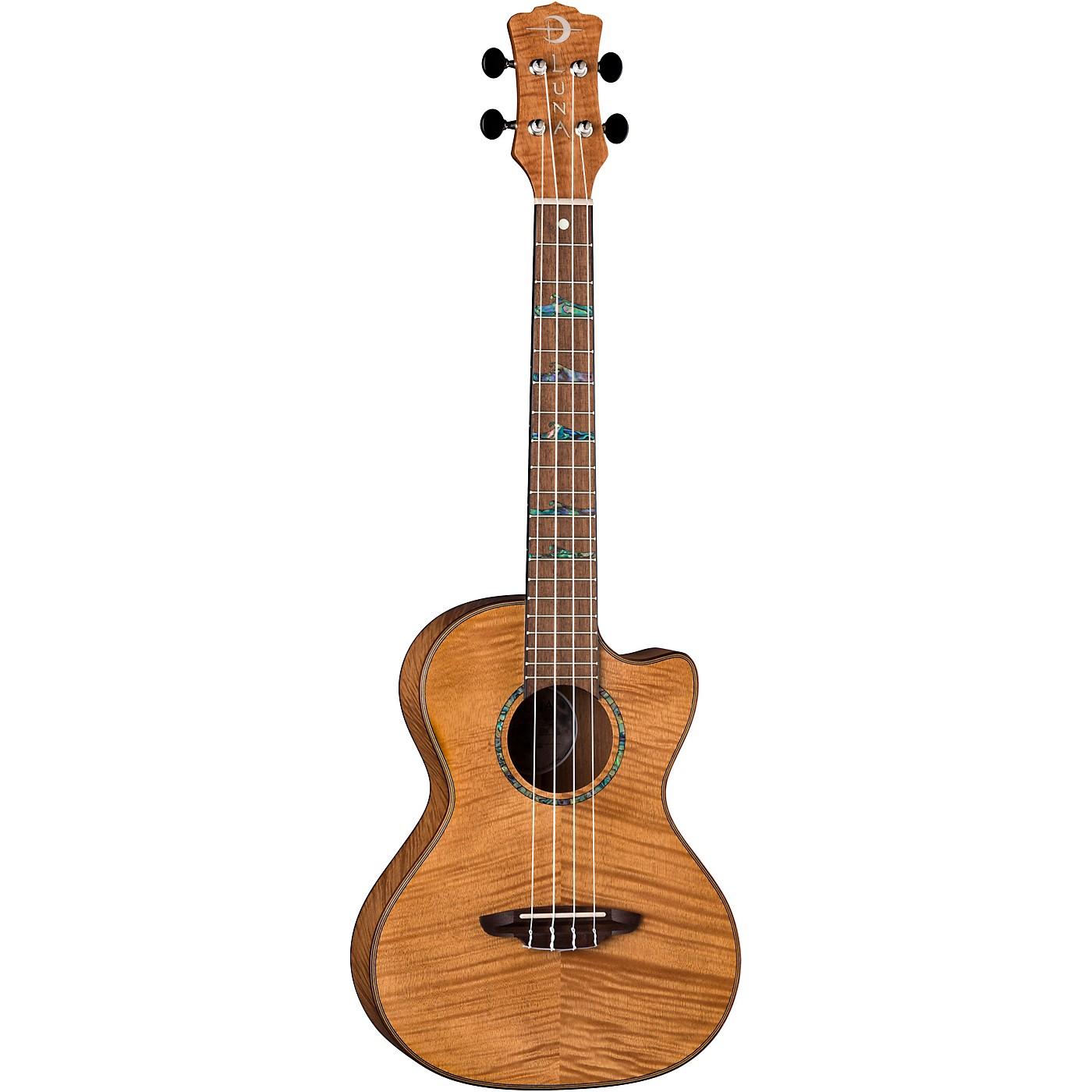 Luna Guitars High Tide Exotic Mahogany Tenor Ukulele thumbnail