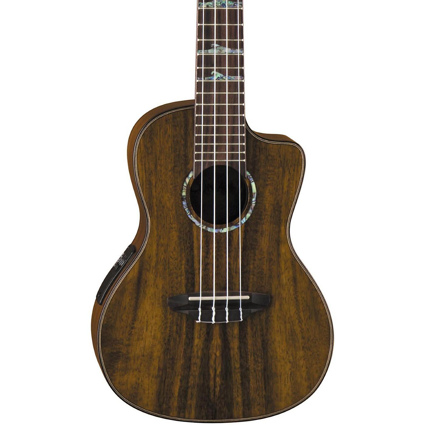 Luna Guitars High Tide Koa Concert Acoustic-Electric Ukulele thumbnail