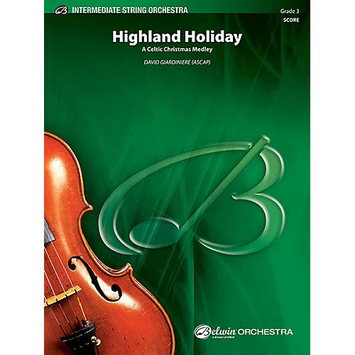 Alfred Highland Holiday String Orchestra Grade 3 Set thumbnail