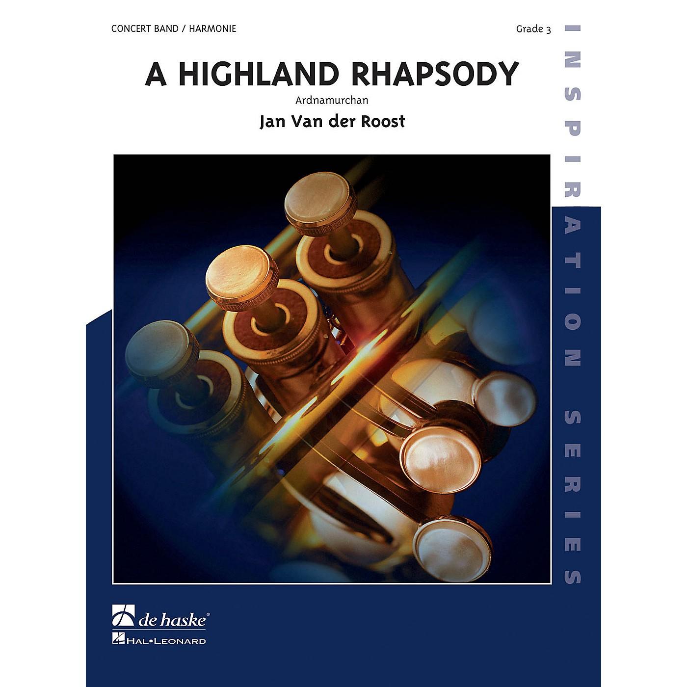 Hal Leonard Highland Rhapsody Score Only Concert Band thumbnail