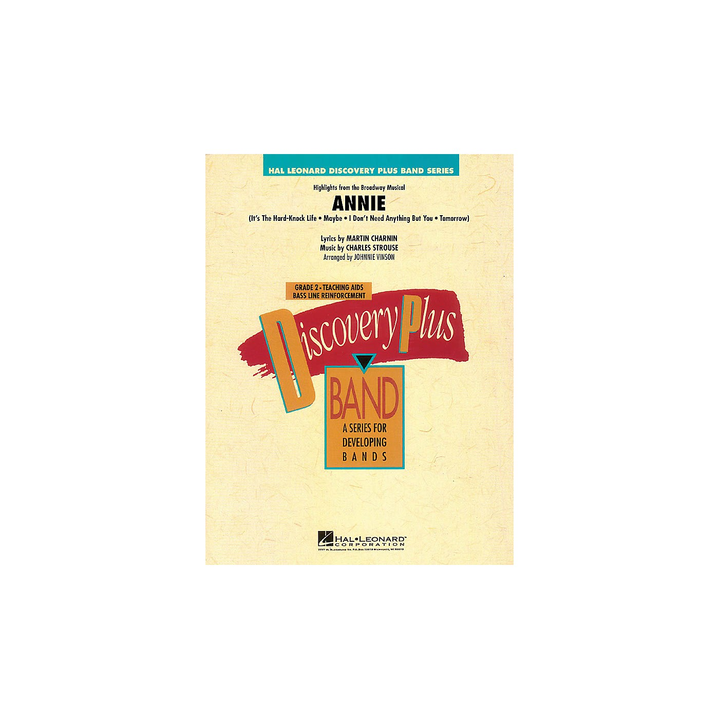 Hal Leonard Highlights from Annie - Discovery Plus Band Level 2 arranged by Johnnie Vinson thumbnail