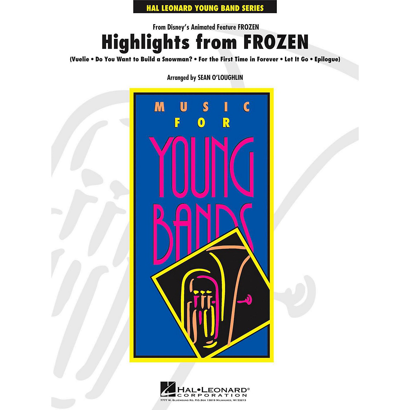 Hal Leonard Highlights from Frozen - Young Concert Band Level 3 thumbnail