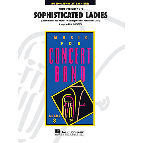 Hal Leonard Highlights from Sophisticated Ladies - Young Concert Band Level 3 arranged by John Edmondson thumbnail