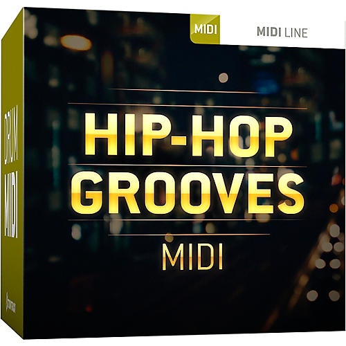 Toontrack Hip Hop Grooves MIDI Expansion thumbnail