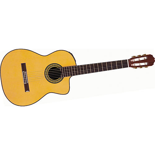 Takamine Hirade Classic TH5C CTP1 Acoustic-Electric Guitar with Case thumbnail