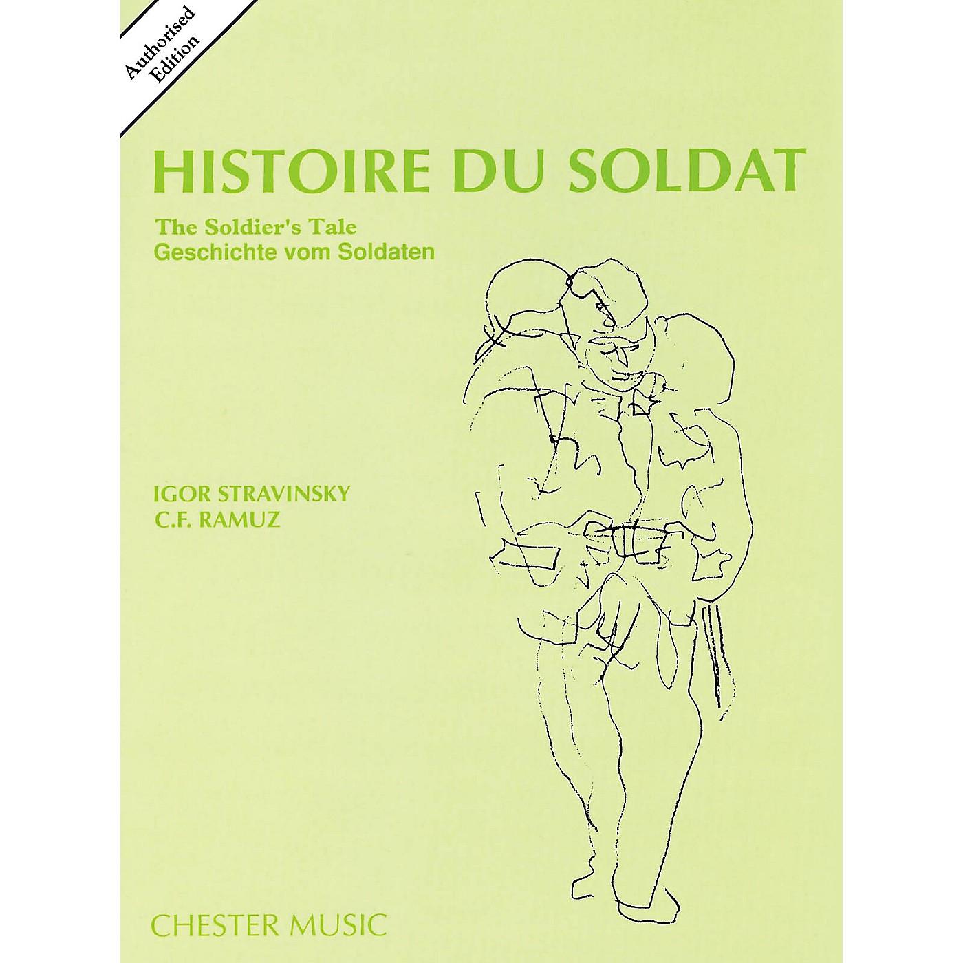 Music Sales Histoire Du Soldat (The Soldier's Tale) Stravinsky Authorized Edition Study Score thumbnail