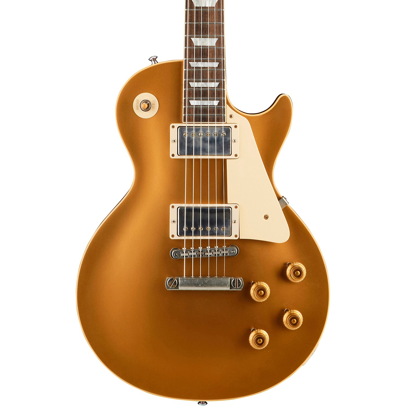 Gibson Custom Historic '57 Les Paul Goldtop VOS Electric Guitar thumbnail