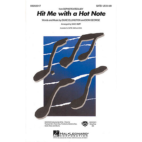 Hal Leonard Hit Me with a Hot Note ShowTrax CD Arranged by Mac Huff thumbnail