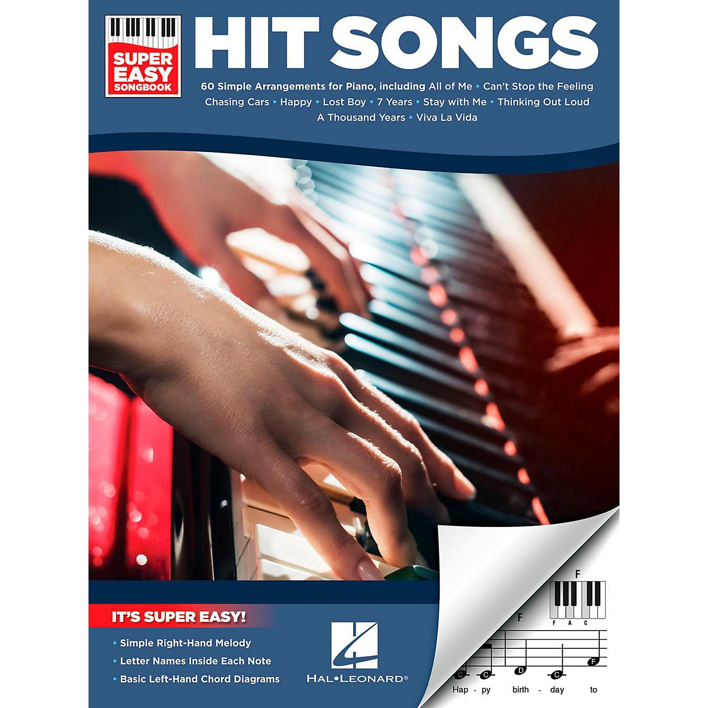 Hal Leonard Hit Songs - Super Easy Songbook thumbnail