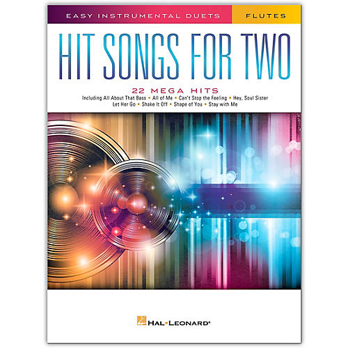 Hal Leonard Hit Songs for Two Flutes - Easy Instrumental Duets thumbnail