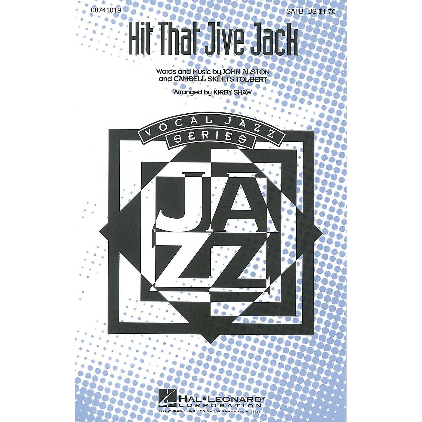 Hal Leonard Hit That Jive Jack SATB arranged by Kirby Shaw thumbnail