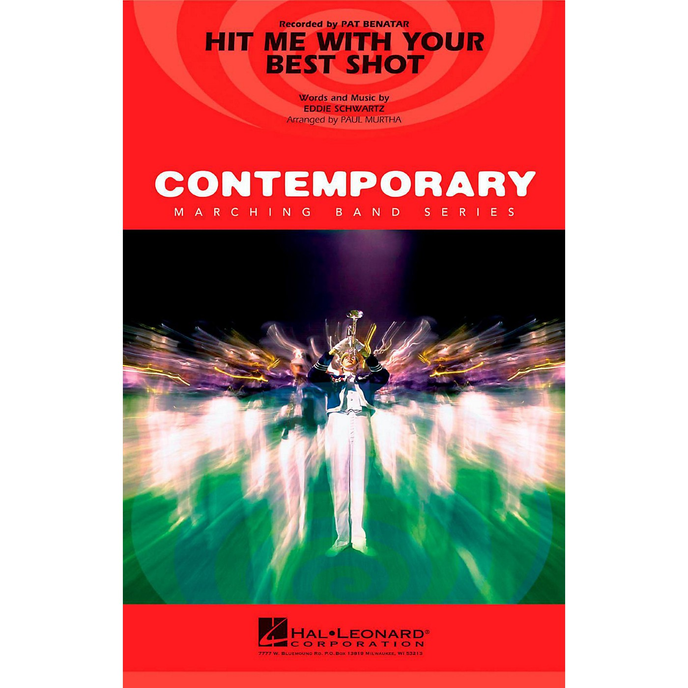 Hal Leonard Hit With Your Best Shot - Pep Band/Marching Band Level 3 thumbnail