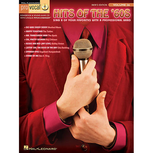Hal Leonard Hits of the '60s (Pro Vocal Men's Edition Volume 36) Pro Vocal Series Softcover with CD by Various thumbnail
