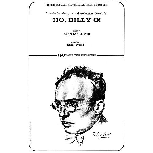 TRO ESSEX Music Group Ho, Billy O! Composed by Kurt Weill thumbnail