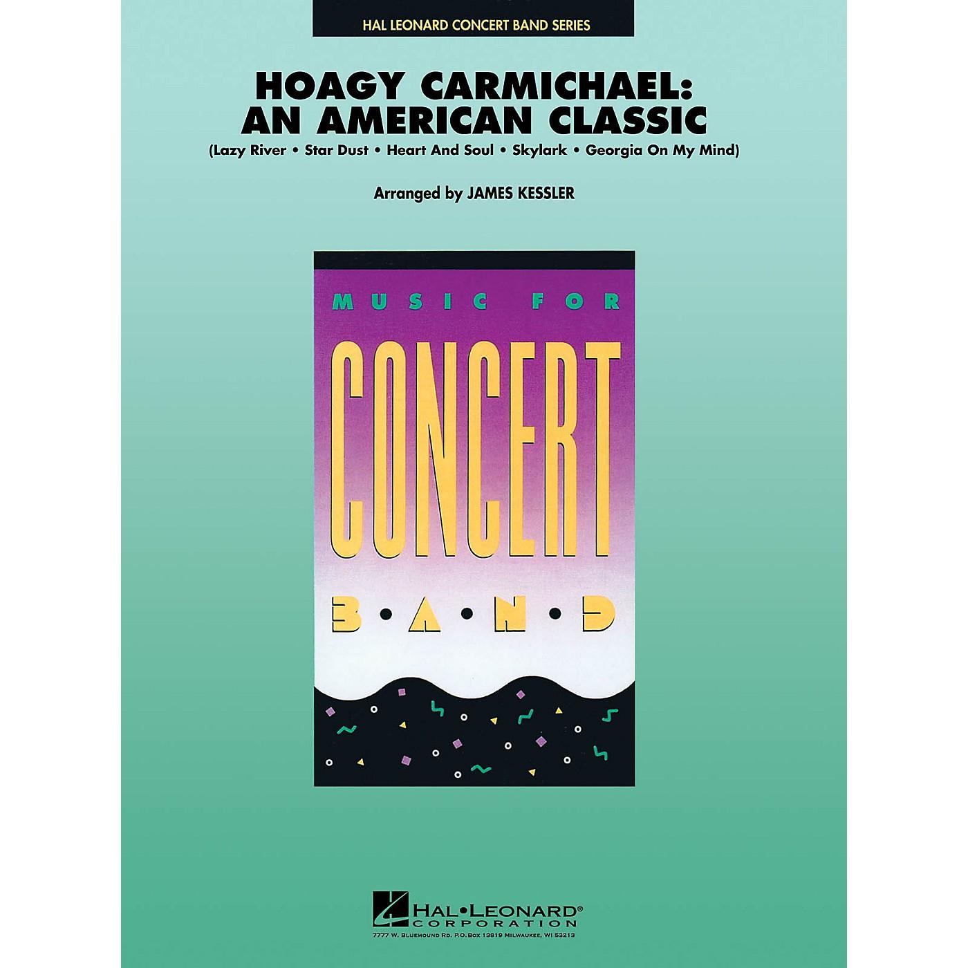 Hal Leonard Hoagy Carmichael: An American Classic Concert Band Level 4-5 Arranged by James Kessler thumbnail