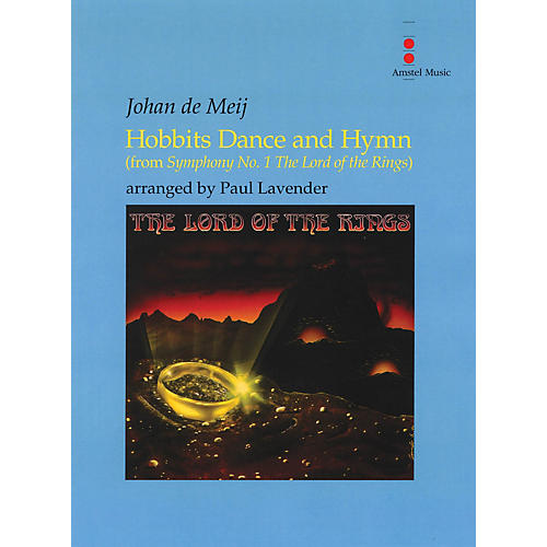Amstel Music Hobbits Dance and Hymn (from The Lord of the Rings) Concert Band Level 2 Arranged by Paul Lavender thumbnail