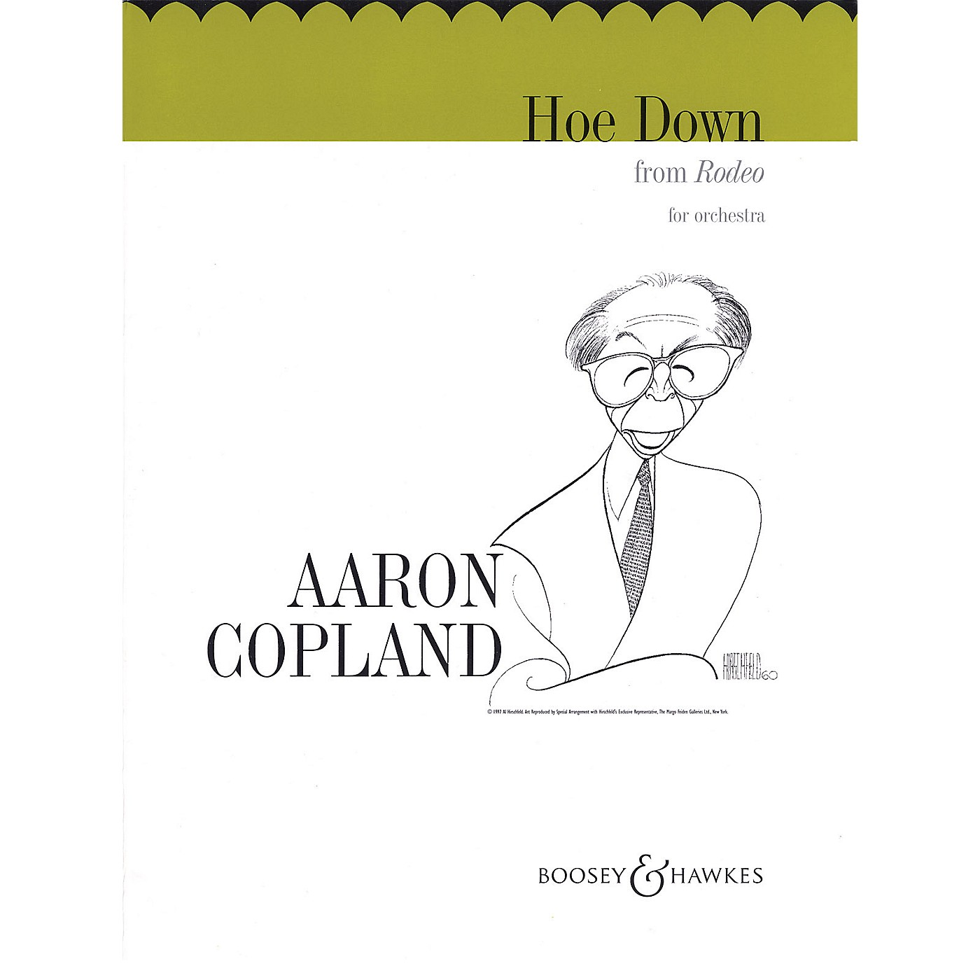 Boosey and Hawkes Hoe Down (from Rodeo) (String Orchestra) Boosey & Hawkes Orchestra Series Composed by Aaron Copland thumbnail