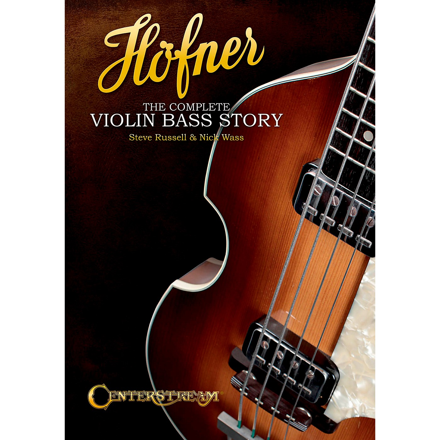 Centerstream Publishing Hofner: The Complete Violin Bass Story (Softcover Book) thumbnail