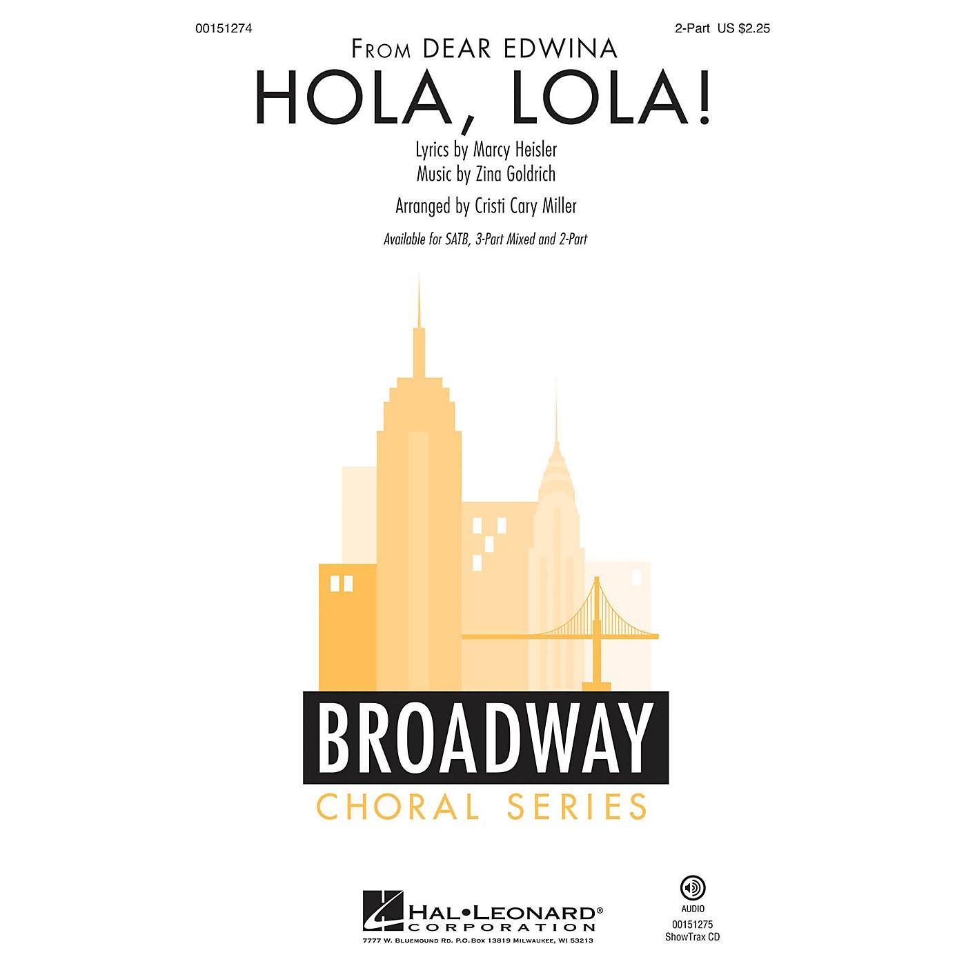 Hal Leonard Hola, Lola! 2-Part arranged by Cristi Cary Miller thumbnail