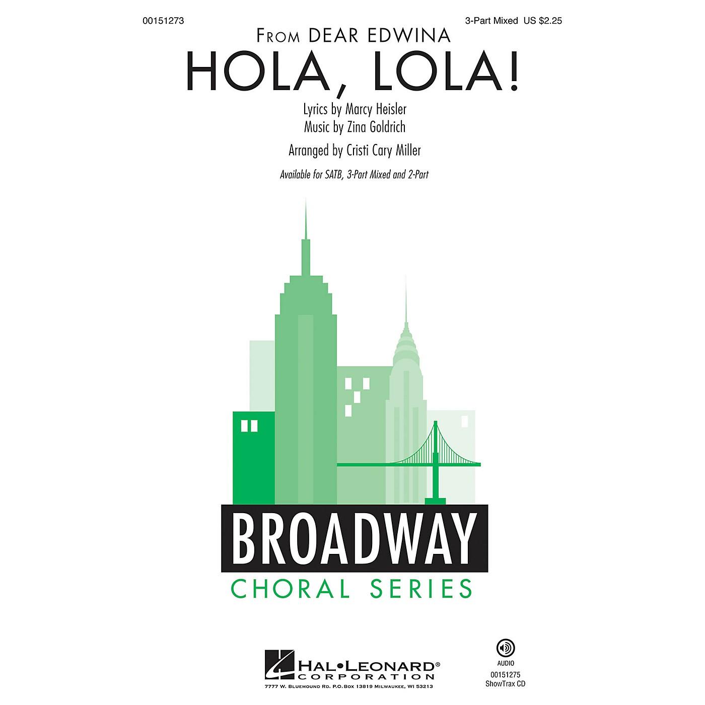 Hal Leonard Hola, Lola! 3-Part Mixed arranged by Cristi Cary Miller thumbnail