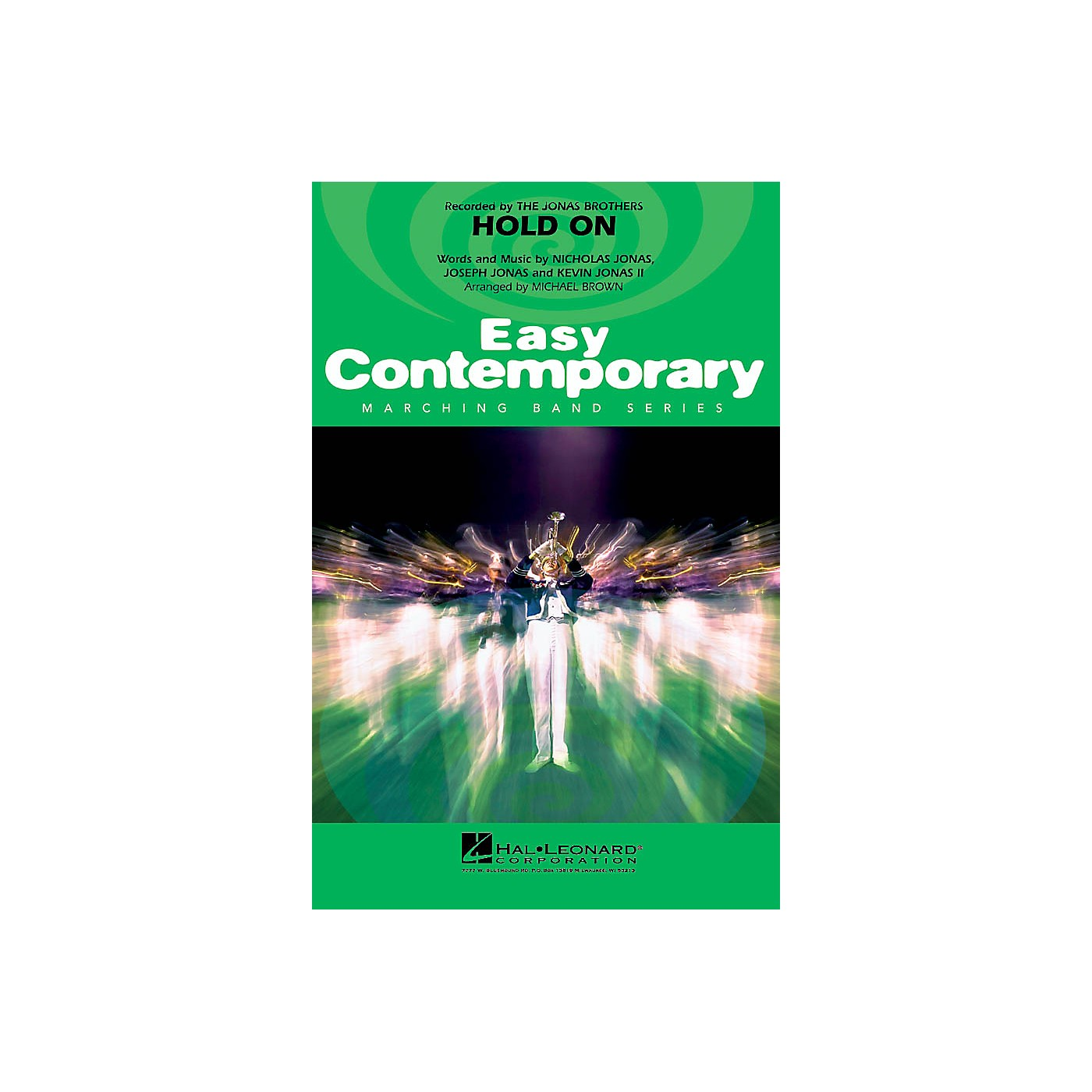 Hal Leonard Hold On Marching Band Level 2-3 by Jonas Brothers Arranged by Michael Brown thumbnail