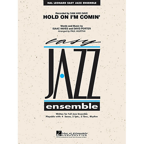 Hal Leonard Hold on I'm Coming Jazz Band Level 2 Arranged by Paul Murtha thumbnail