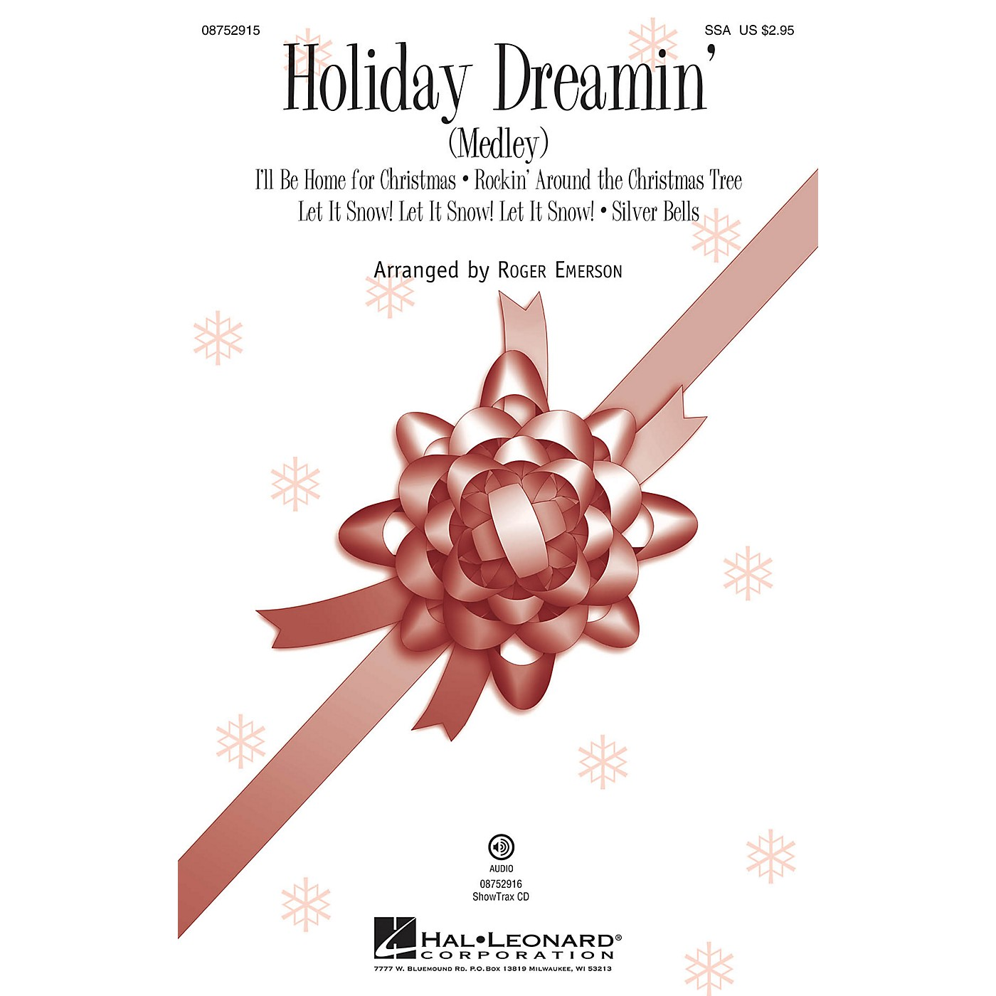 Hal Leonard Holiday Dreamin' (Medley) SSA arranged by Roger Emerson thumbnail