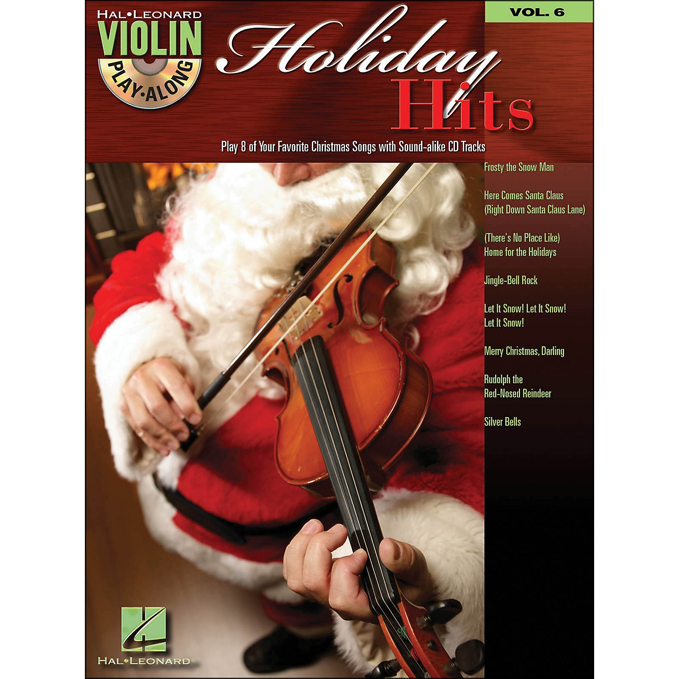 Hal Leonard Holiday Hits Violin Play-Along Volume 6 Book/CD thumbnail