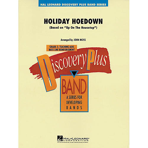 Hal Leonard Holiday Hoedown - Discovery Plus Concert Band Series Level 2 arranged by John Moss thumbnail