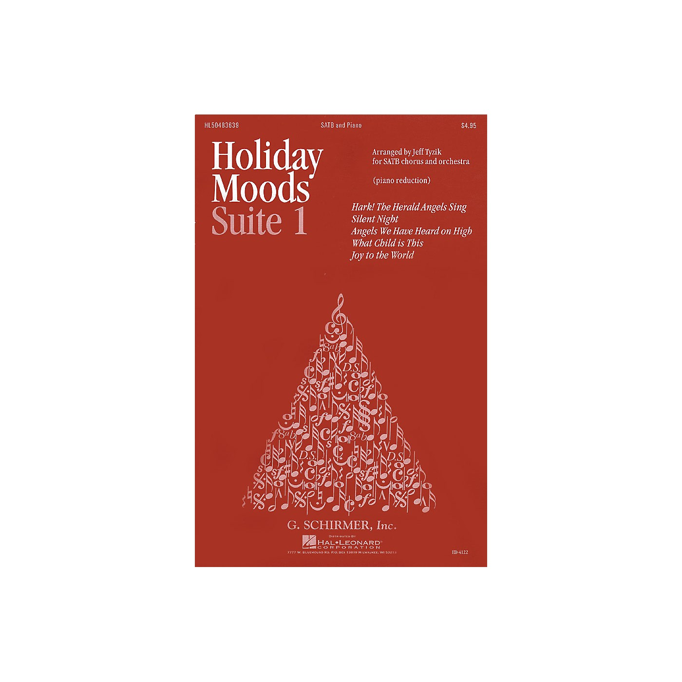 G. Schirmer Holiday Moods (SATB divisi) SATB Divisi composed by Various thumbnail