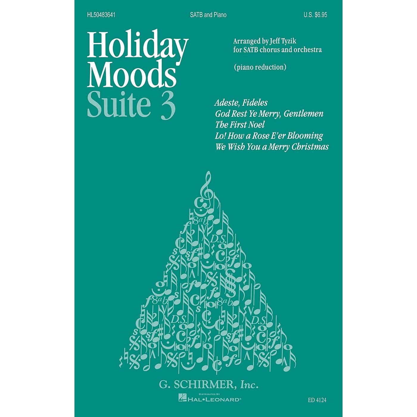 G. Schirmer Holiday Moods (SATB divisi) SATB Divisi composed by Various thumbnail