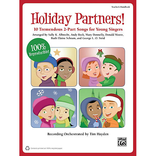 Alfred Holiday Partners! Book & CD-thumbnail
