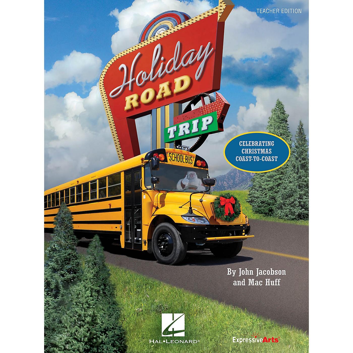 Hal Leonard Holiday Road Trip (Celebrating Christmas Coast-to-Coast) Performance Kit with CD by John Jacobson thumbnail