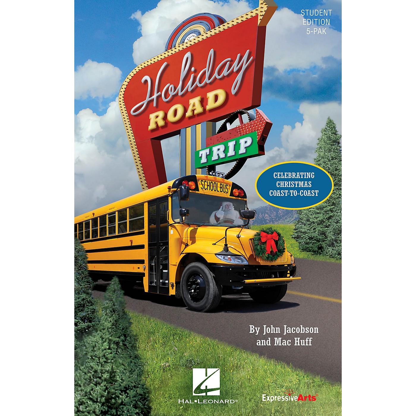 Hal Leonard Holiday Road Trip (Celebrating Christmas Coast-to-Coast) Singer 5 Pak Composed by John Jacobson thumbnail