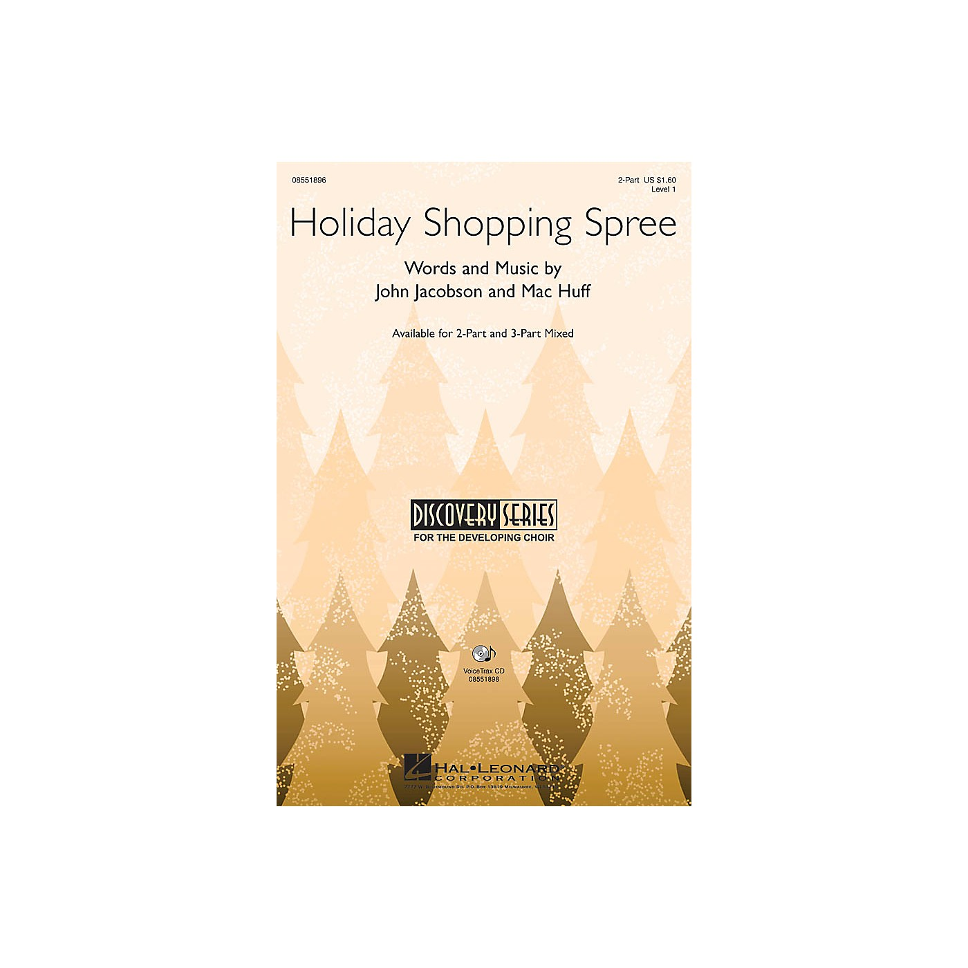 Hal Leonard Holiday Shopping Spree 3-Part Mixed Composed by John Jacobson, Mac Huff thumbnail