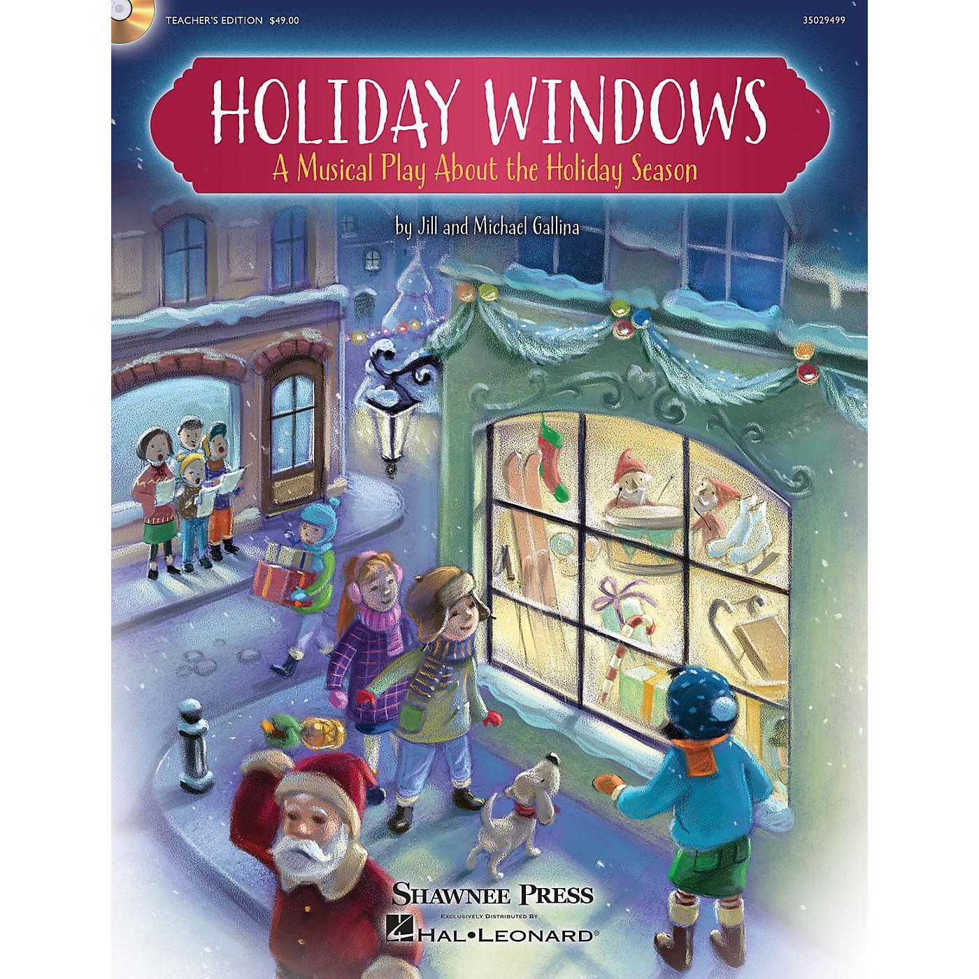 Shawnee Press Holiday Windows Performance/Accompaniment CD Composed by Jill Gallina thumbnail