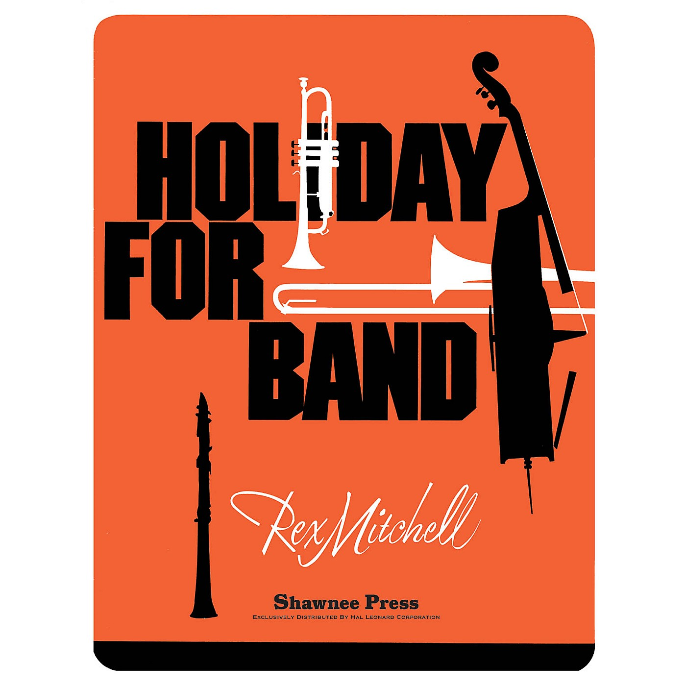 Shawnee Press Holiday for Band Concert Band Level 4 Composed by MITCHELL thumbnail