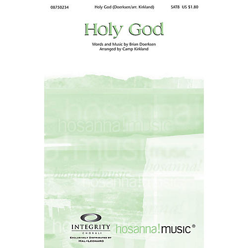 Integrity Choral Holy God ORCHESTRA ACCOMPANIMENT by Brian Doerksen Arranged by Camp Kirkland thumbnail