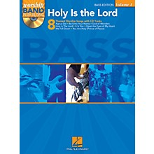 Hal Leonard Holy Is the Lord - Bass Edition Worship Band Play-Along Series Softcover with CD Composed by Various