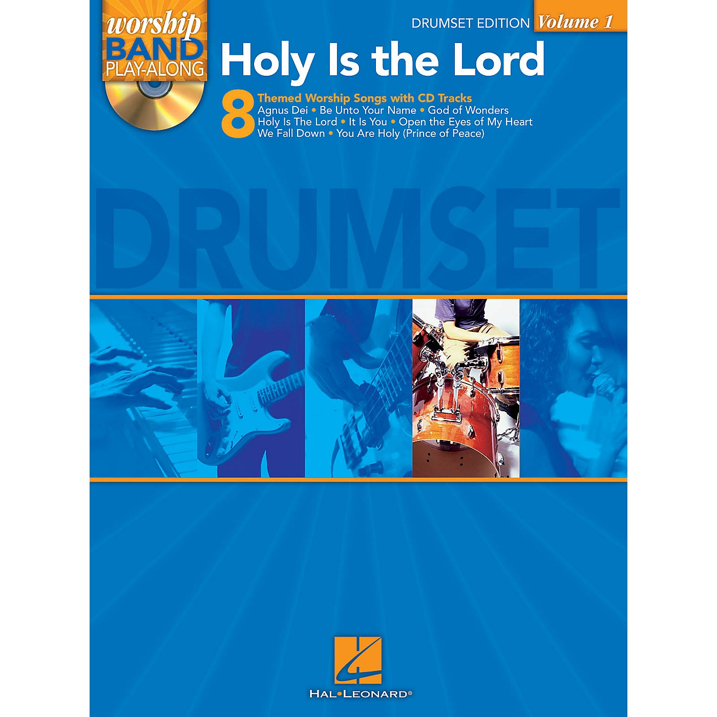 Hal Leonard Holy Is the Lord - Drum Edition Worship Band Play-Along Series Softcover with CD Composed by Various thumbnail