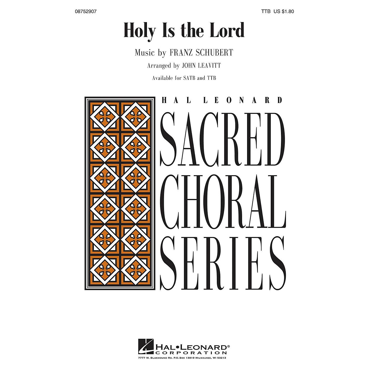 Hal Leonard Holy Is the Lord TTB arranged by John Leavitt thumbnail